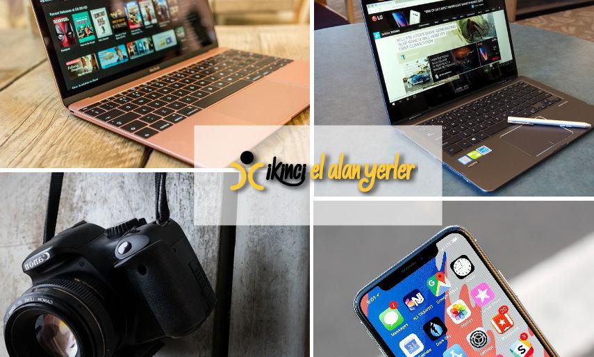 Bilgisayar, Fotoğraf Makinesi, Iphone ALan Yerler